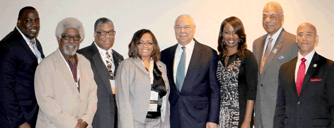 BDPA & BETF Leadership with General Colin Powell